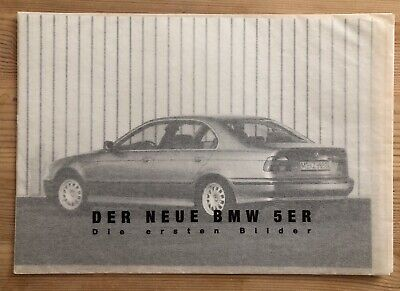 BMW E39 Original BMW Pressefotos 1995