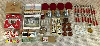 Small Coca-Cola Collection - 86 Collectible Pieces - Some NIB - 1950's to 1990's