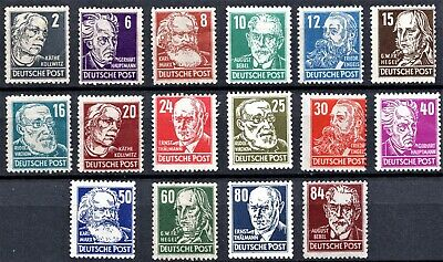 Germany -1948 Portraits - Full Set - Mint Never Hinged** - Scan + Pic