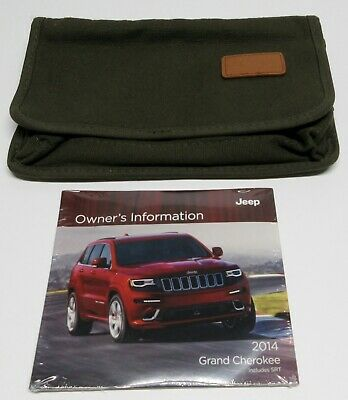 2014 Jeep Manual Cover With Owner's Information Dvd Sealed From Factory