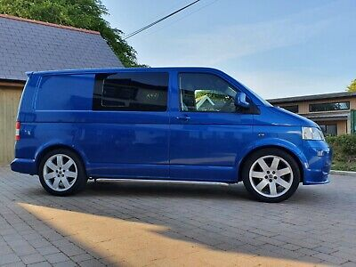 Vw Transporter T5 T30 85 Tdi Camper Swb 2004 With Awning
