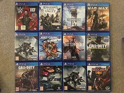 Ps4 Games @ £6 Each