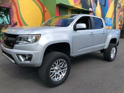 "2015 Chevrolet Colorado 2WD Crew Cab 128.3"" Z71 2015 Chevy Colorado LT Crew Cab Only 72K LOW MILES Leather Navi & All JACKED UP"