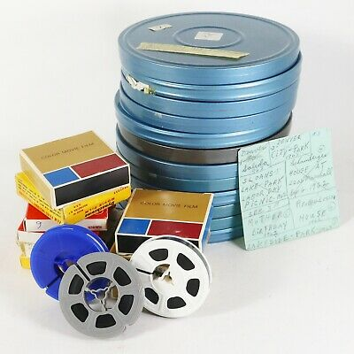 8mm Film Home & Travel Movie lot - 1960's Holiday, NY, CA, Amusement Park