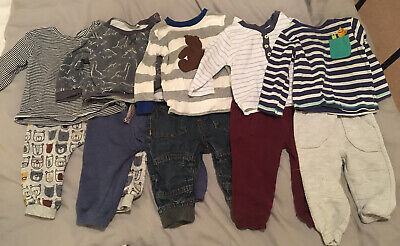 baby boys 6-9 months bundle Outfits Trousers Tops Tu George Marks And Spenders