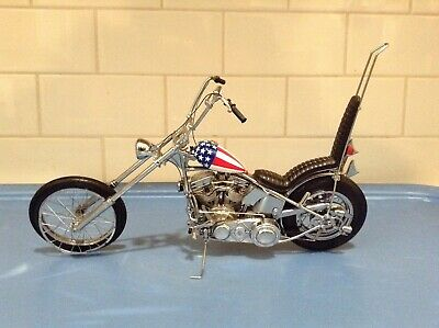 FRANKLN MINT - EASY RIDER The CAPTAIN AMERICA BIKE - HARLEY-DAVIDSON  1:10 SCALE