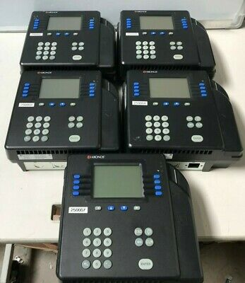 LOT OF 5 Kronos 4500 Time Clock 8602800-501