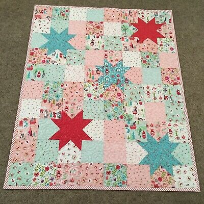 Handmade Baby or Toddler Quilt-Little Red in the Woods