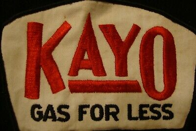 Unused Kayo Gasoline Uniform Patch Circa 60'S