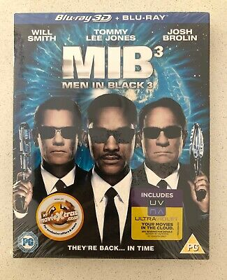 MEN IN BLACK 3 MIB3 Blu-ray 3D + BLU-RAY