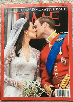 TIME Magazine Special Commemorative Copy, Royal Wedding, William Kate, Collector