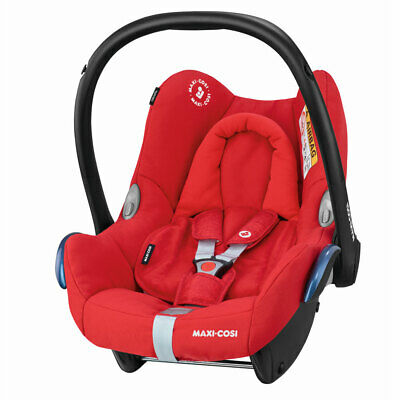 Brand New Maxi-Cosi CABRIOFix baby car seat Gp0 in Nomad Red RRP£135