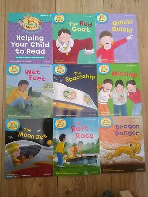 Oxford reading Tree Stage 4 Biff Chip & Kipper Stories 9 Books