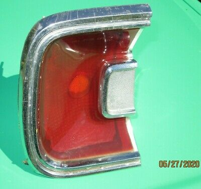1967 Plymouth Barracuda Left Lh Rear Tail Light Lamp Assembly Original Oem