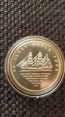 10 Euro Gorch Fock 2008 In Kapsel