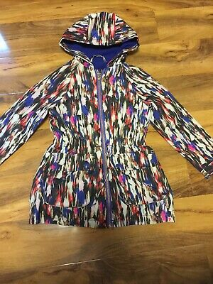 French Connection Girls Light Coat With Fleece Lining Age 6-7 Years