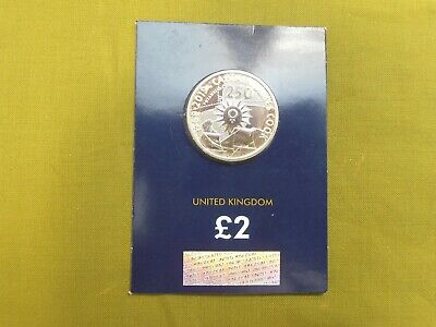 2019 Captain Cook £2 Two Pound Bu Coin Uk Certified  Brilliant Uncirculated.