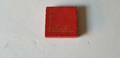 Collectible 1960'S Waddington Round Playing Cards !!!!!