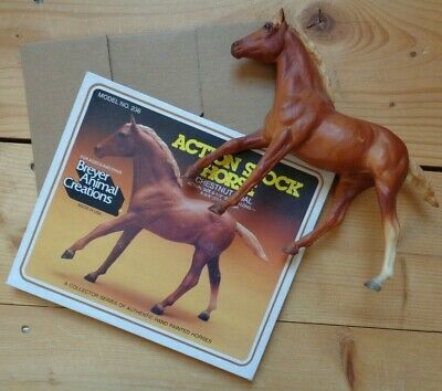 Vintage Breyer Horse Chestnut Foal  #236 with Original Box  Made in USA