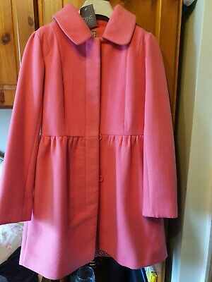 Brand New Pink Coat from Next with Tags Age 9 to 10 lined ideal for School