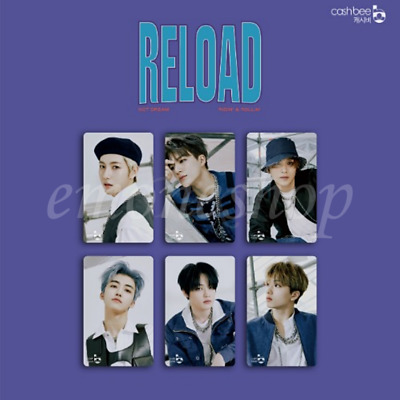 PRE-ORDER NCT DREAM 엔시티드림 [ RELOAD ] CASHBEE PHOTO CARD SEALED KPOP Official MD