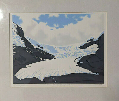 Leyda Campbell - Columbia Icefields - Limited Edition Serigraph  #702/1000