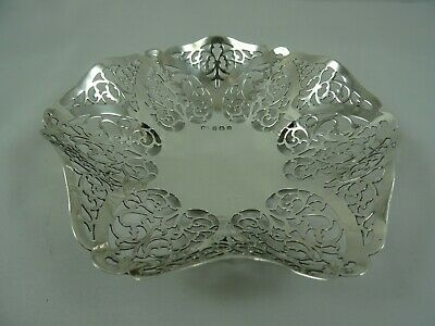 SOLID  silver SWEET  DISH , 1914, 88gm