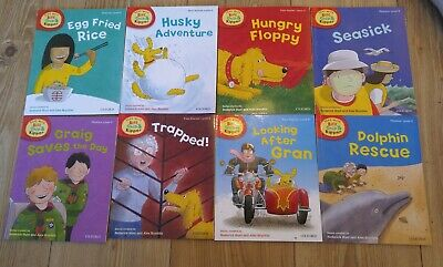 Oxford reading Tree Stage 5 Biff Chip & Kipper Stories 8 Books level 5