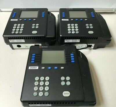 LOT OF 3 Kronos 4500 Time Clock 8602800-501