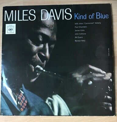 Miles Davis Kind Of Blue CBS S62066 VG