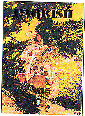MAXFIELD PARRISH - Foil Stamped Chase Card F1