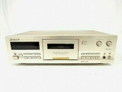 Pioneer 3 Head Single Cassette Deck T-D7 Stereo Noise Reduction System AC100V