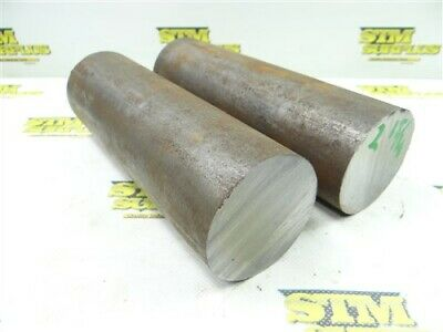 """34.5Lb Solid Steel 2-15/16"""" Dia Round Stock 9"""" Lengths"""