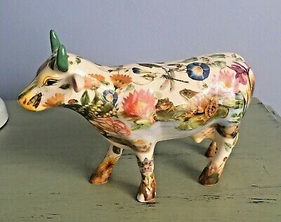 Cow Parade #7367 Maddi's Garden by Marybeth Whalen