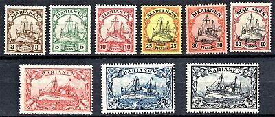 Germany - 1901 Mariana Islands - Yachts - Mint Never Hinged** - Scan + Pic