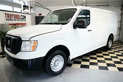 2013 Nissan NV 1500 S NO RESERVE 2013 Nissan NV 1500 S Repairable Salvage Work Cargo Van Rebuildable Damaged