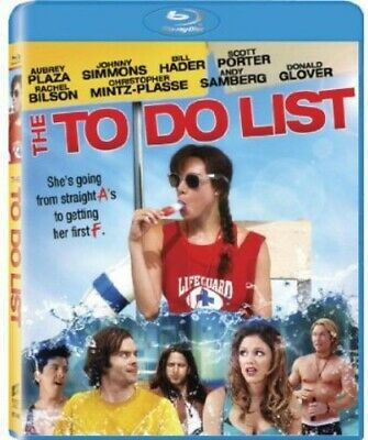 To Do List (Ws) New Bluray