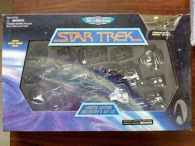 Package Only Star Trek Micro Machines Limited Edition Collection III Low #008703