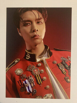 Johnny Neo Zone: The Final Round Punch Player NCT 127 Official Postcard