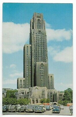 Cathedral Of Learning,University Of Pittsburgh,Trolley,Parking Lot~Pittsburgh,Pa