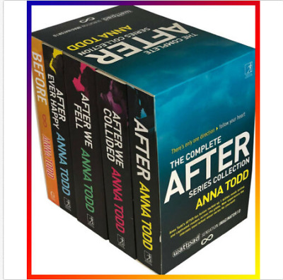 The Complete After Series Collection 7 Books by Anna Todd  ( 📩, Digital)