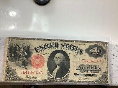 FR. 39 1917 $1 ONE DOLLAR UNITED STATES NOTE *Grand Pa's Collection* Bargain