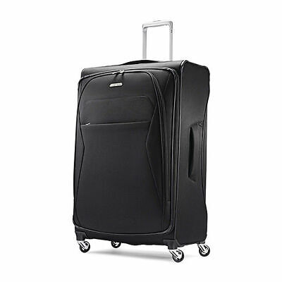 """NEW Samsonite Luggage Eco-Move Midnight BLACK 29"""" Spinner Expandable Suitcase"""