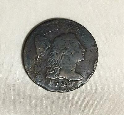 1795 Large Cent Found In Colonial St Mary's City Maryland Free USA Shipping