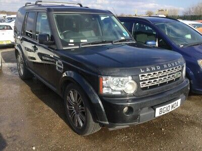10 Land Rover Discovery 4 3.0 Tdv6 Xs Nav/Leather,**Non Runner**Spares Or Repair