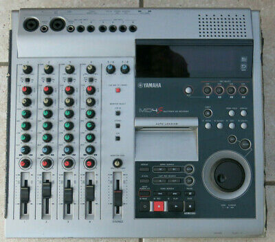 Yamaha MD4S Multitrack MD Recorder Minidisc