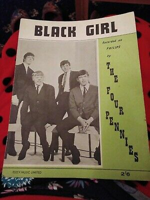 Sheet Music - Black Girl By The Four Pennies