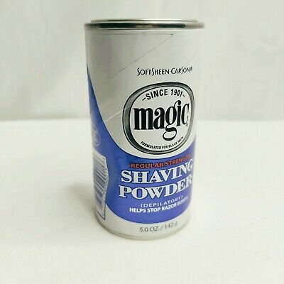 Softsheen Carson Magic Shave Regular Strength Shaving Powder 5 Oz