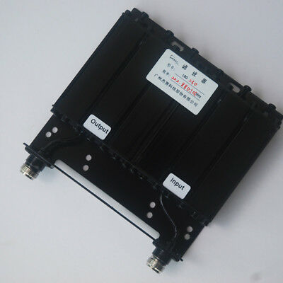30W VHF Bandpass 6 Cavity  Filter for Radio Repeater N Connector