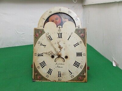 19th Century Longcase Clock Movement Signed Thomas Hilham, 13""